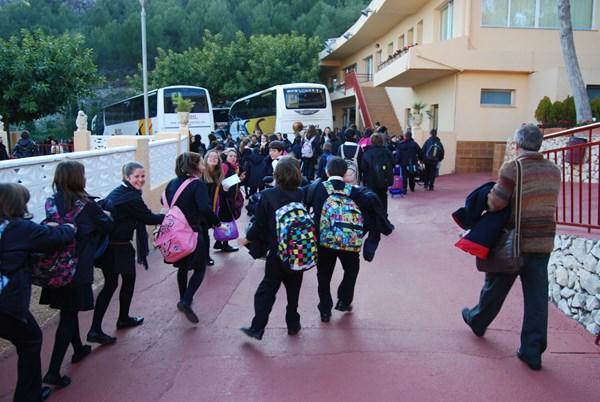 Transporte escolar comarcal